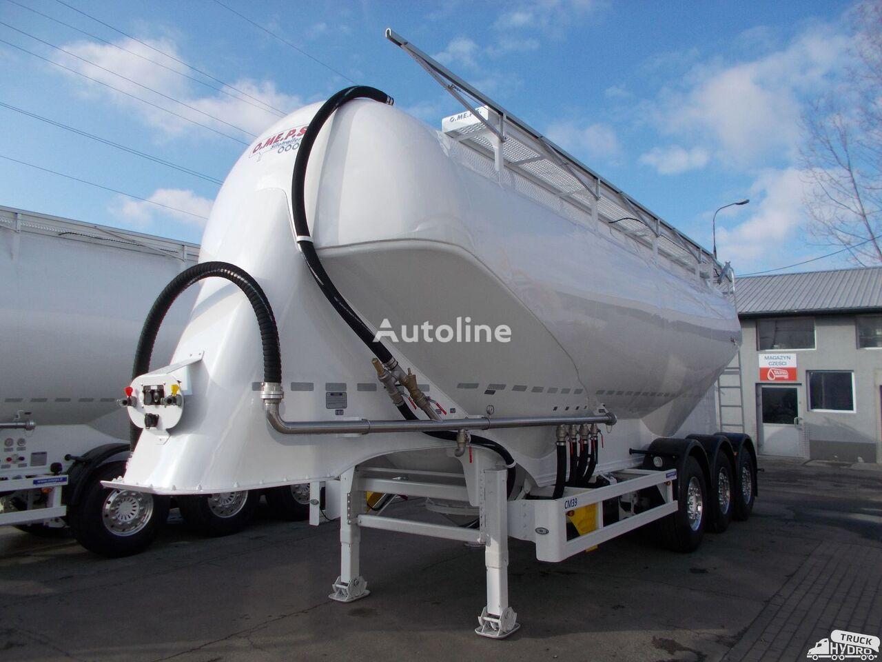 new OMEPS CM 39/SPITZER/FELDBINDER Szybkie terminy odbioru - 2019 r. cement tank trailer
