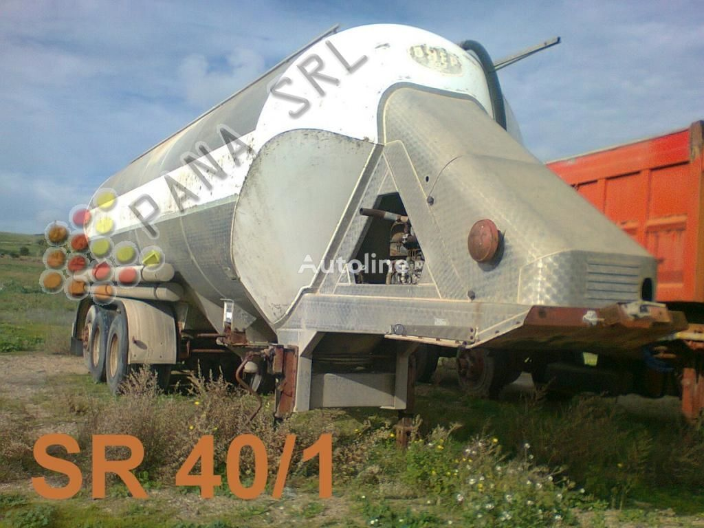 OMEPS CM41 S2-A cement tank trailer