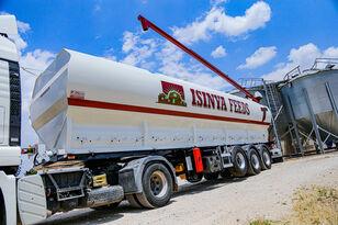 new SINAN TANKER-TREYLER Screw Silo Bulk Tanker - Шнековый Кормовоз cement tank trailer