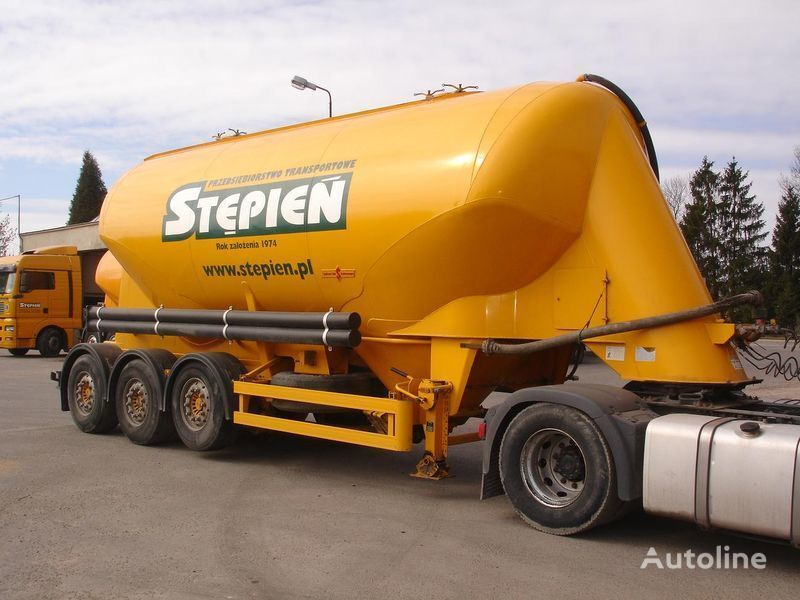 SPITZER SF 27 cement tank trailer