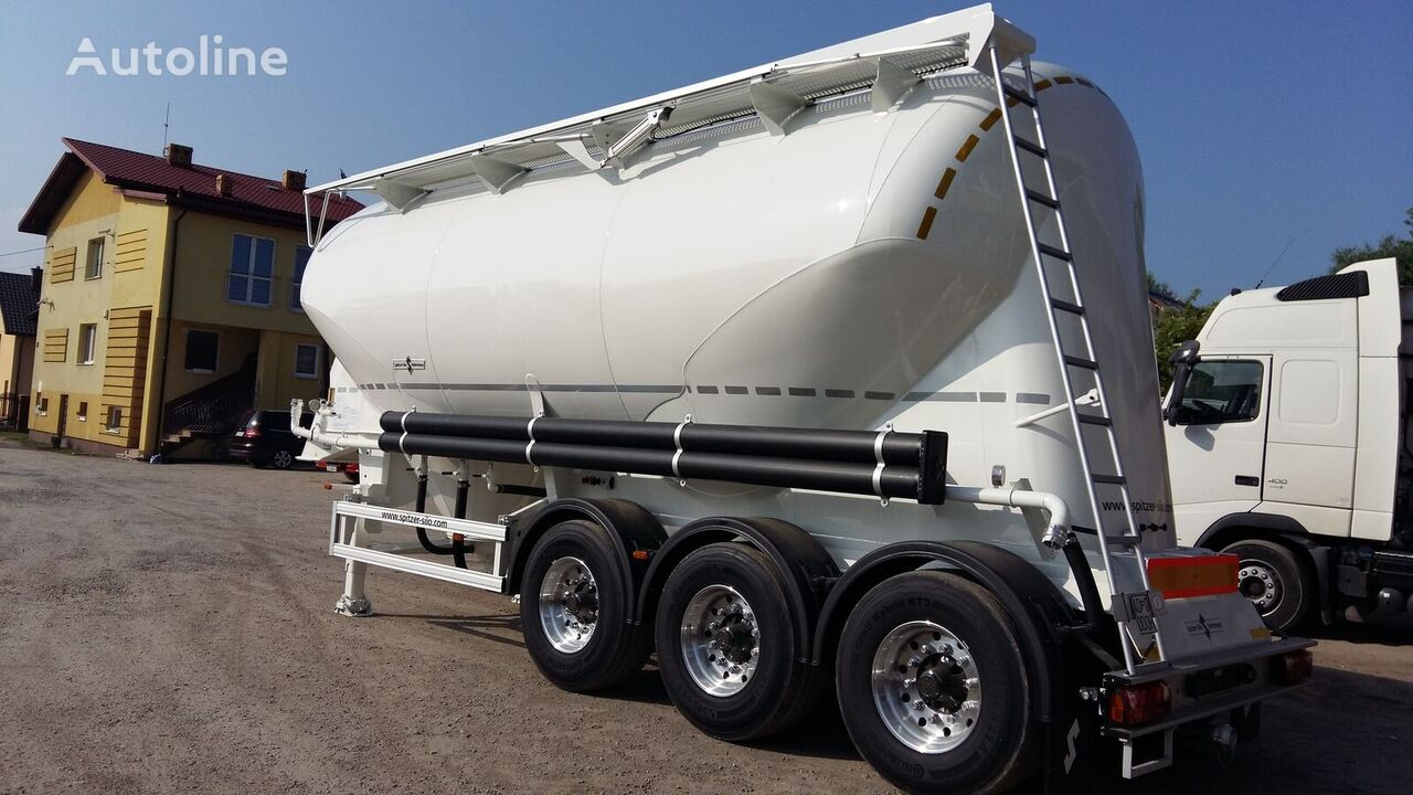 new SPITZER SF 2734 cement tank trailer