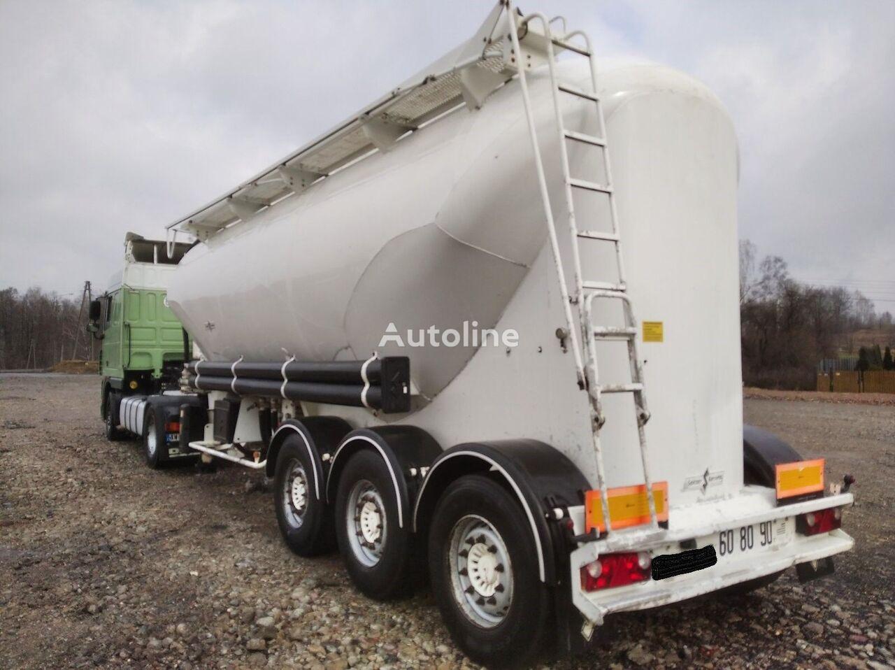 SPITZER SF2437       4520 KG  cement tank trailer
