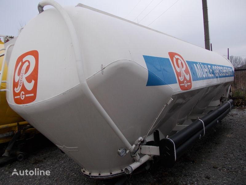 SPITZER SILOS DO MĄKOWOZU !!! cement tank trailer