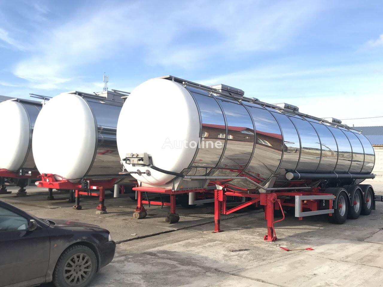 DIJKSTRA chemical tank trailer