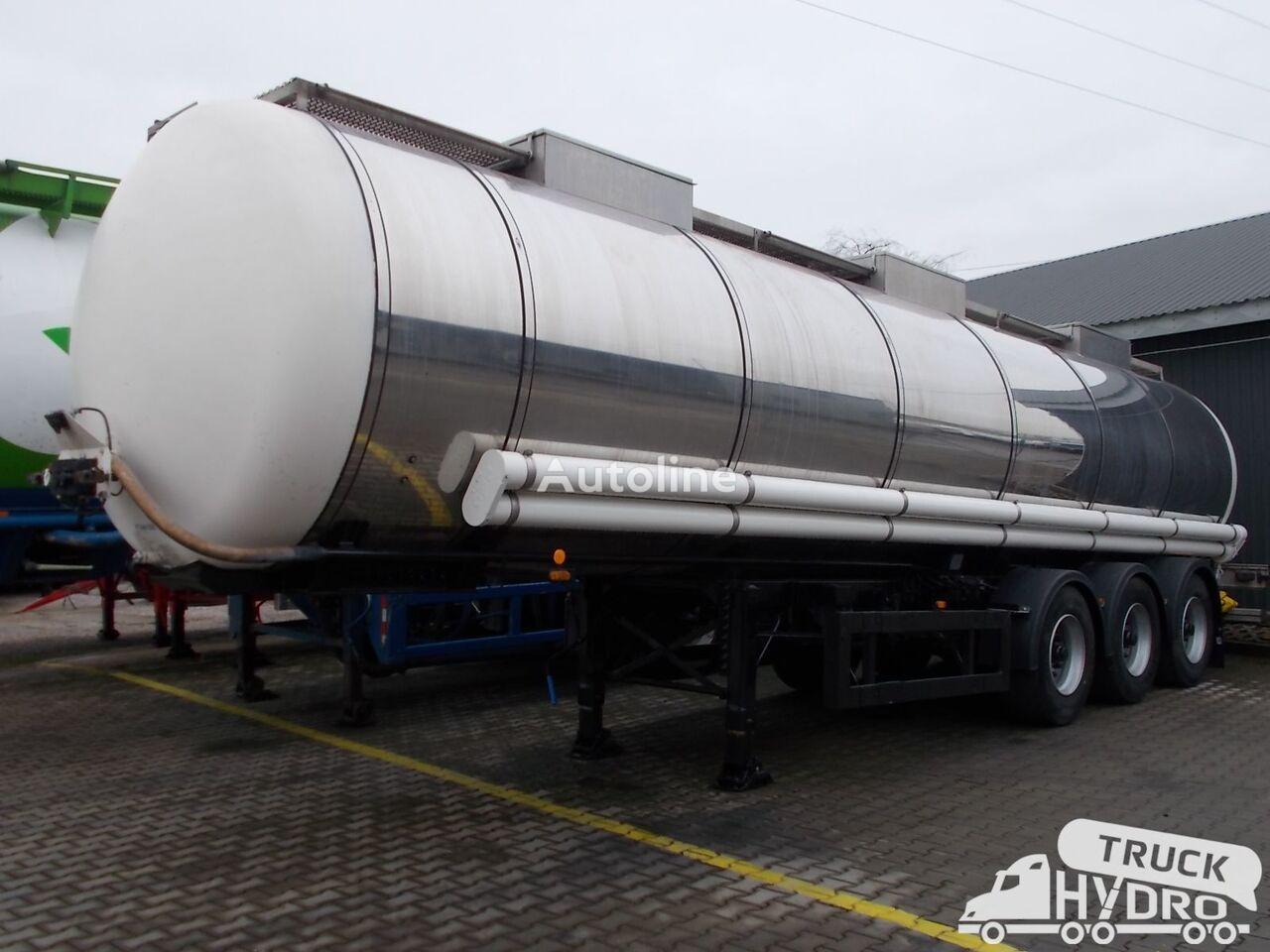 LAG GSA-24 chemical tank trailer