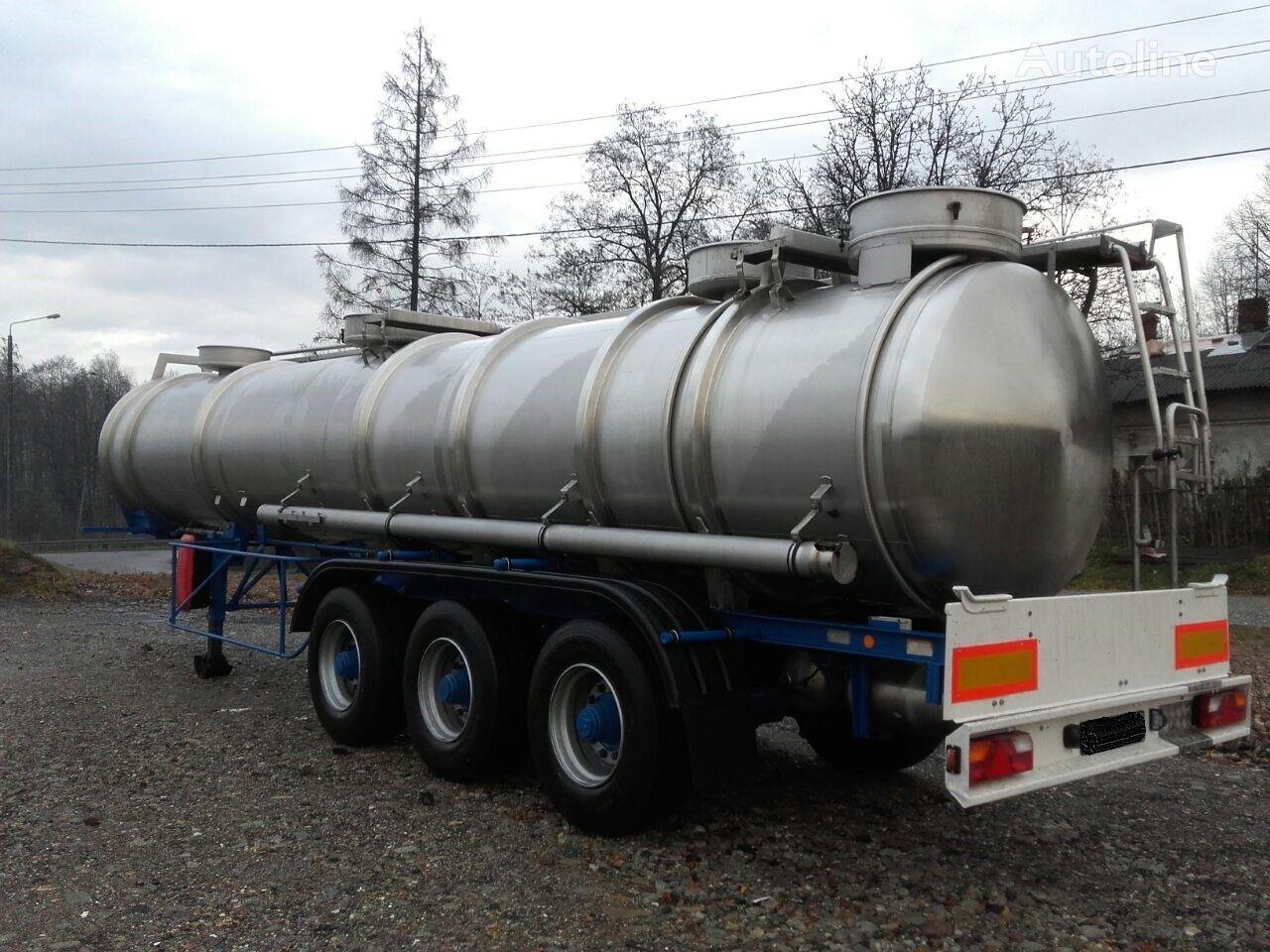 MAGYAR SR34EF     21400L//4Bary//1Komora// chemical tank trailer