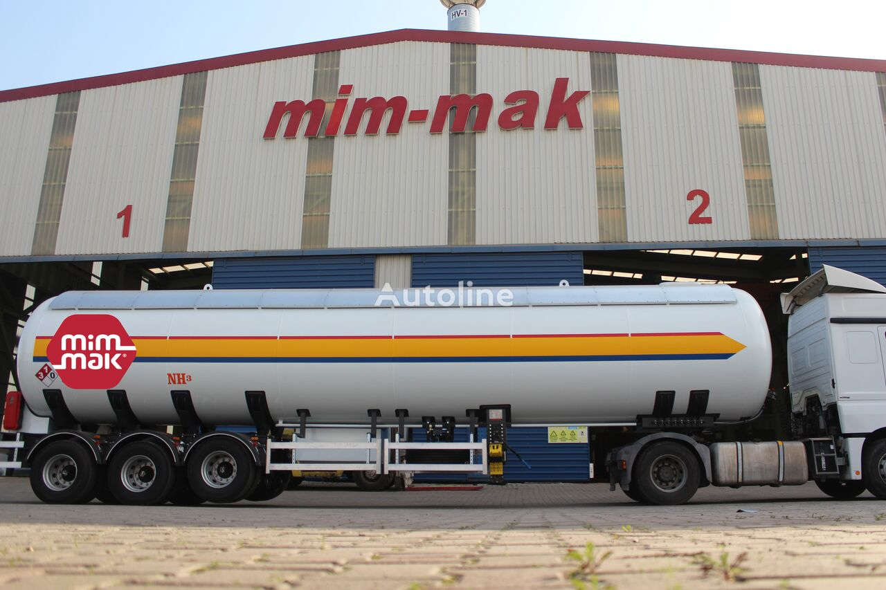 new MIM-MAK AMONYAK TRANSPORT TANKI NH3 - 36 m³ / 60 m³ chemical tank trailer