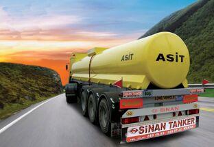 new SINAN / ACID TANKER chemical tank trailer
