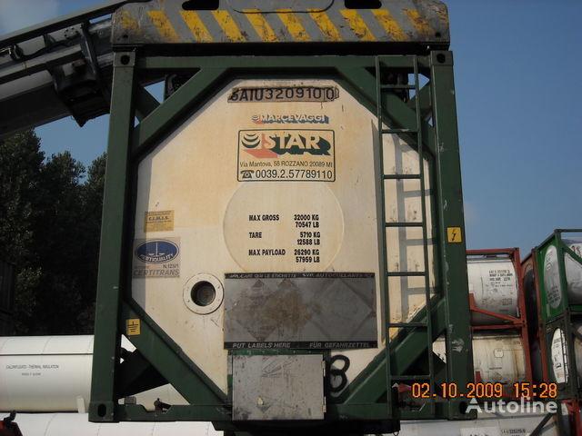 CPV 30 PIEDI L4BH multiscomparto chemical tank