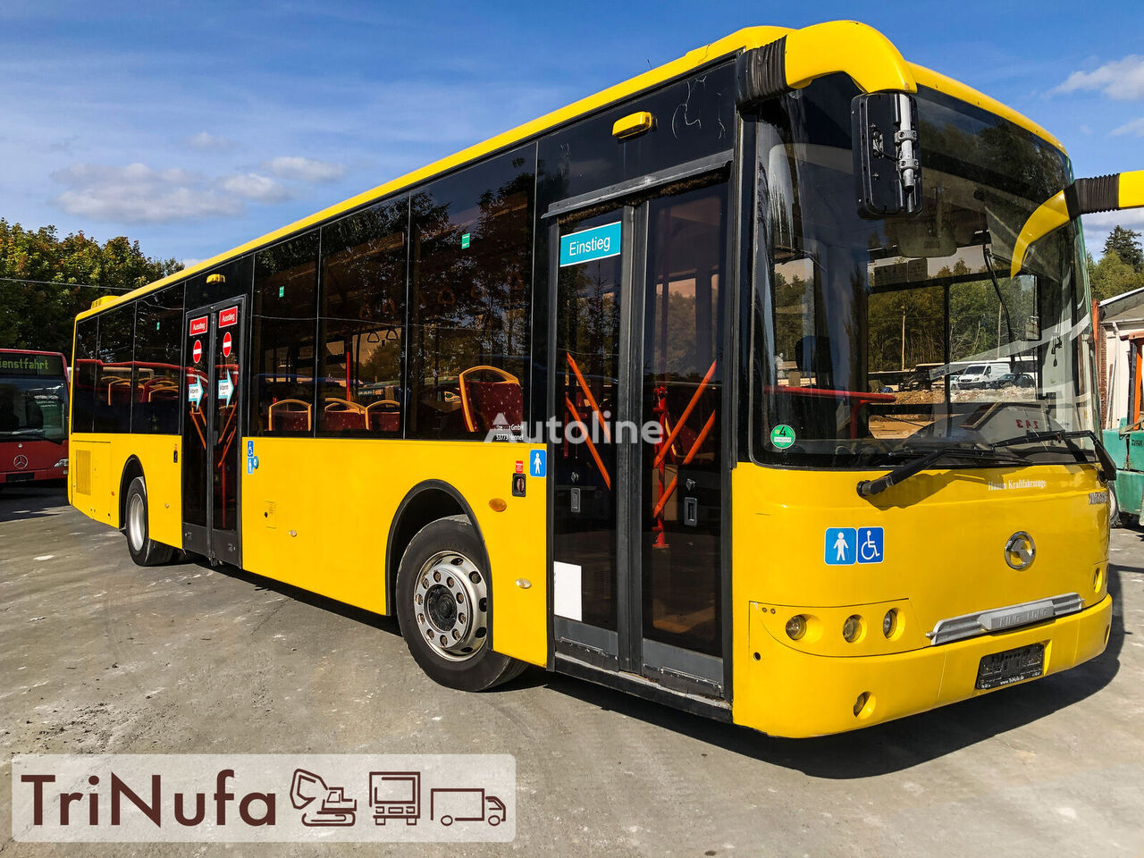 KING LONG XMQ 6121 G   151.652 org. KM   Klima   Retarder   city bus