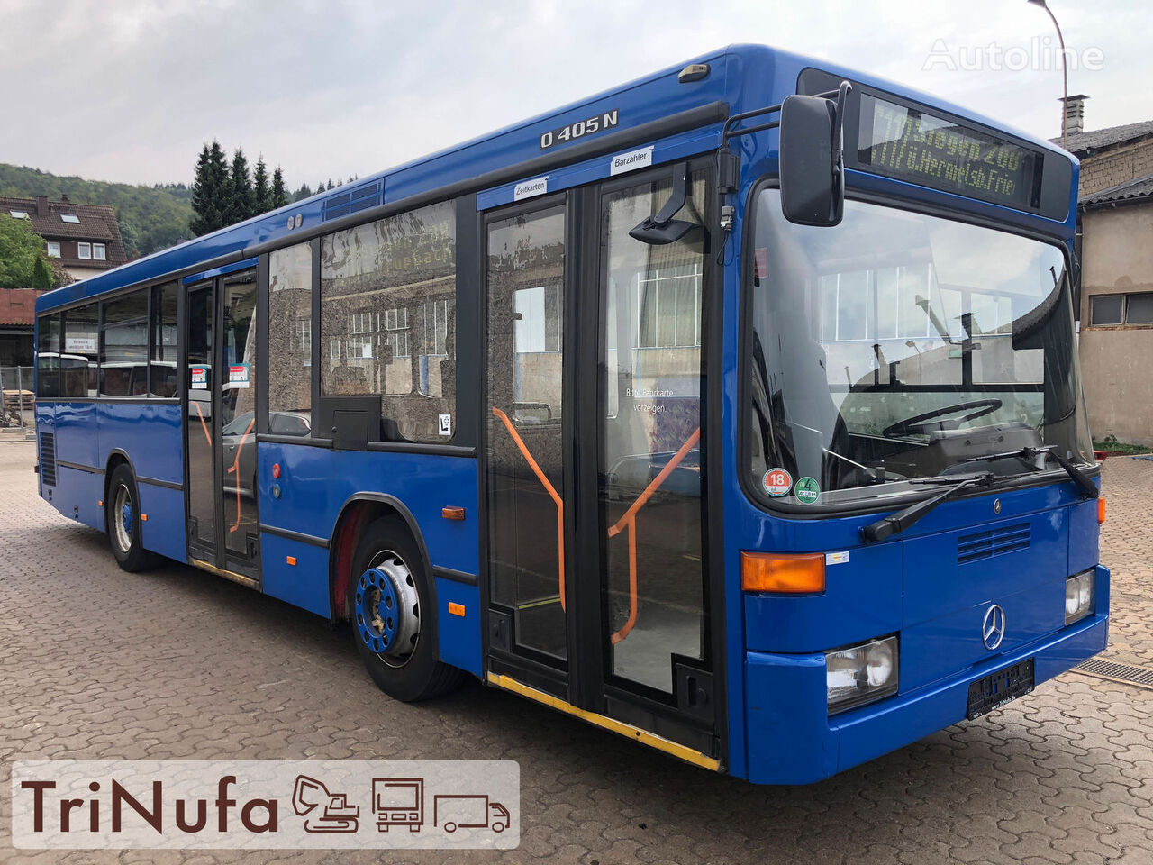 MERCEDES-BENZ O 405 N K F | Länge: 10,5 m | Höhe 2,71 m | Euro 4 | city bus