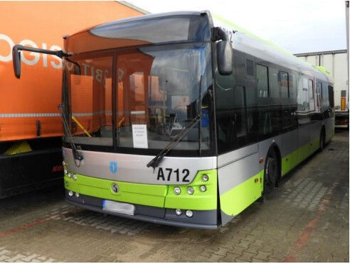 SOLBUS Solcity 12 LNG / Euro 6 / 26+1 seats / 136k km / 1 owner  city bus