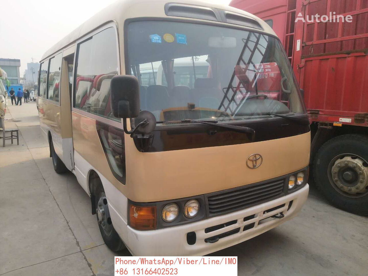 TOYOTA Coster city bus