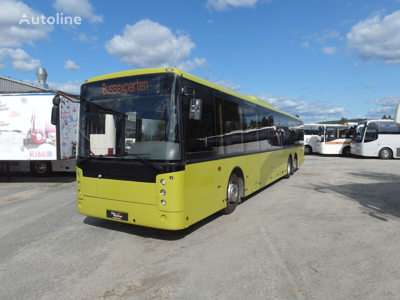 VOLVO B12B Center. Euro 5 city bus