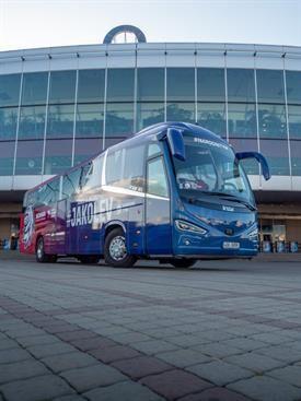IRIZAR I6s coach bus