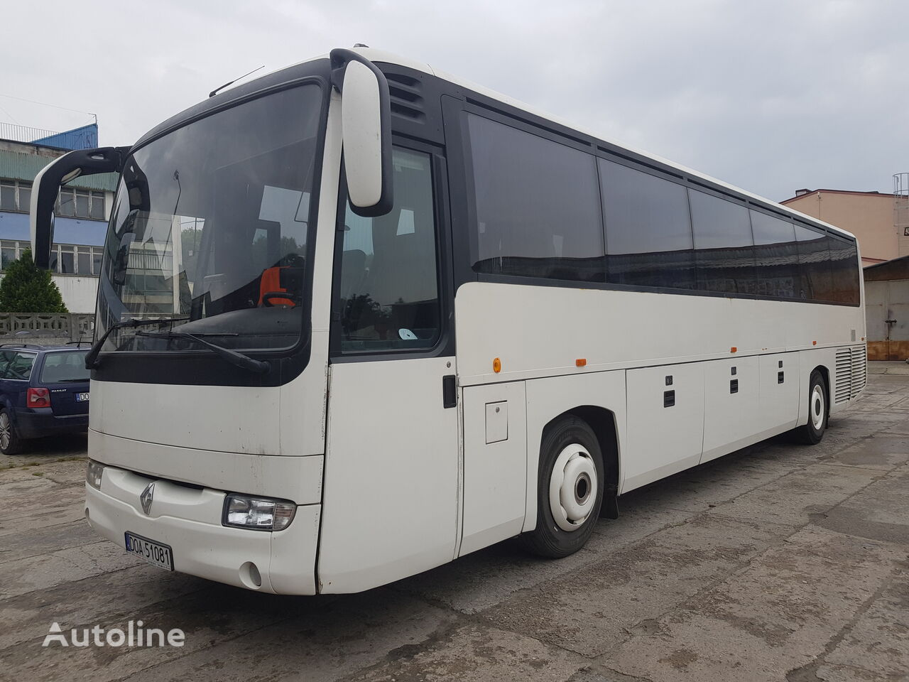 RENAULT SFR112 coach bus