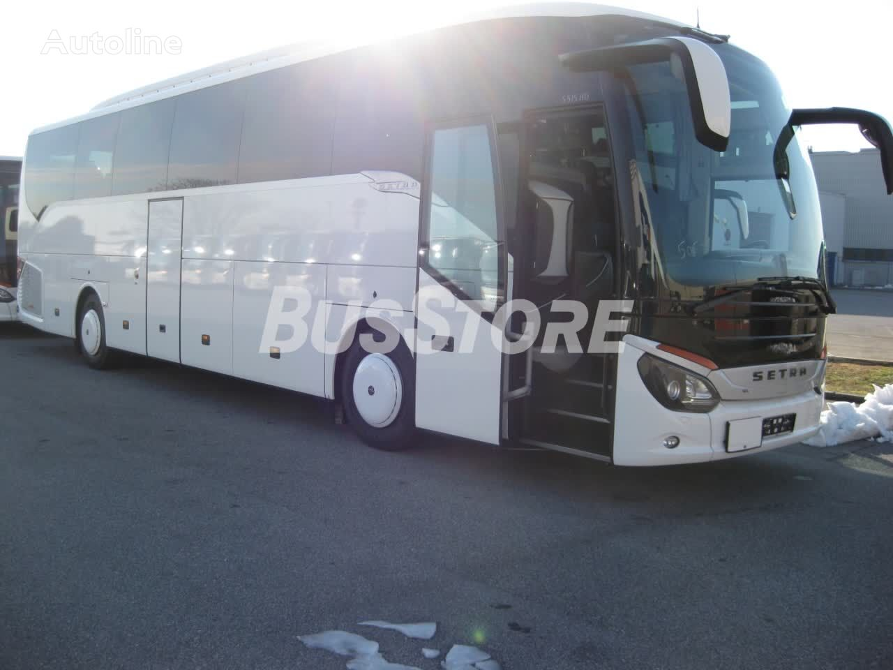 SETRA S 515 HD coach bus