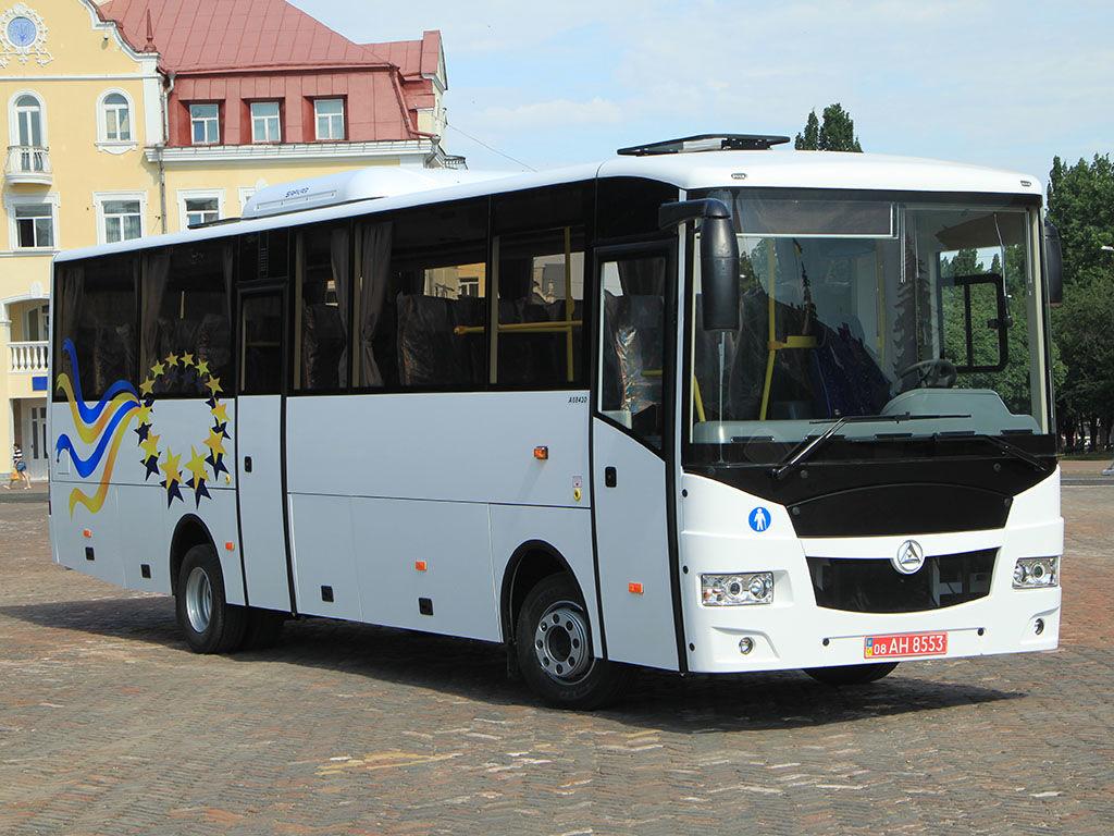 new BAZ Etalon A08420 coach bus
