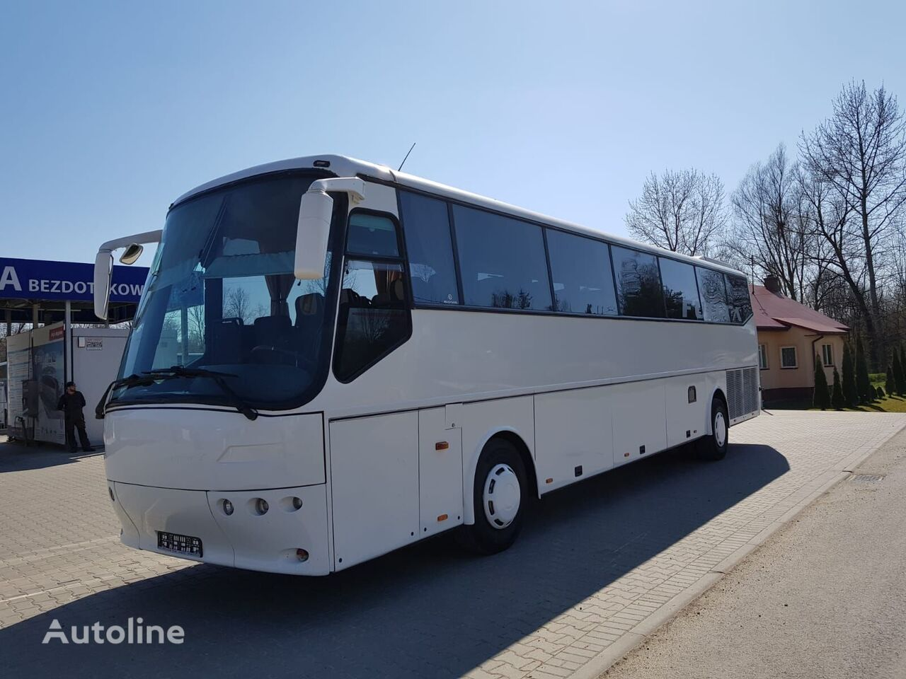 BOVA FHD13 coach bus