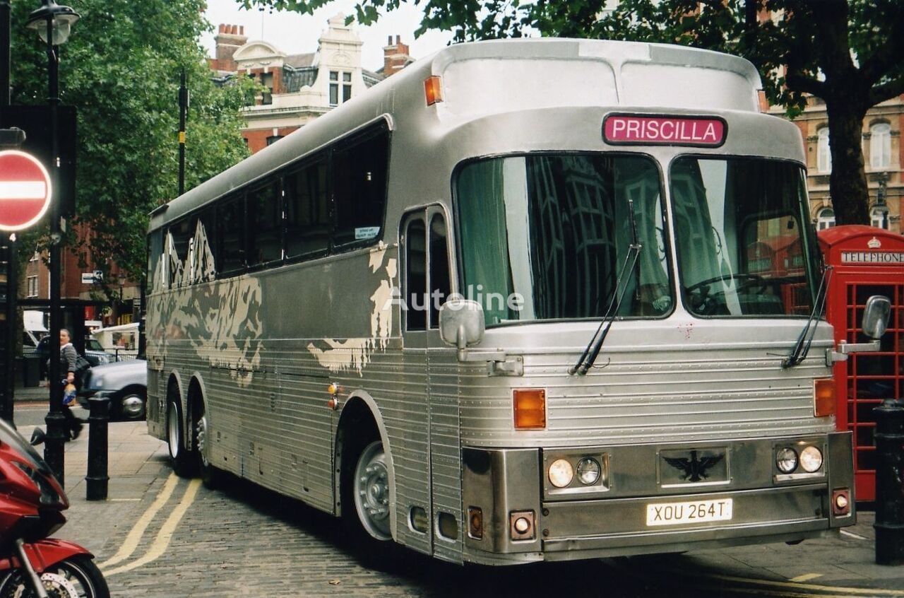 Detroit Diesel American Greyhound Style  Silver Eagle MK 05 Left-hand Drive coach bus