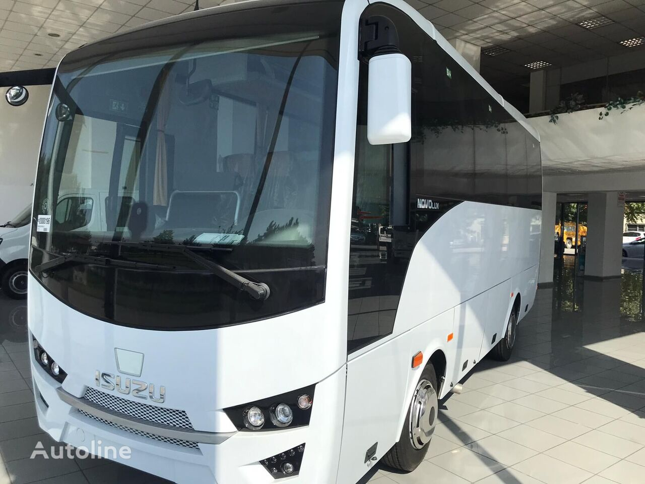 new ISUZU Novo Lux more in stock we ship worldwide  coach bus