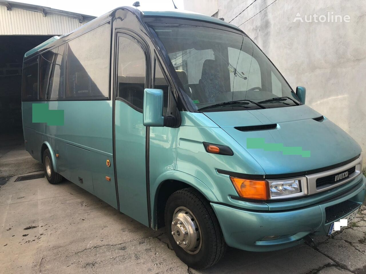 IVECO ANDECAR coach bus