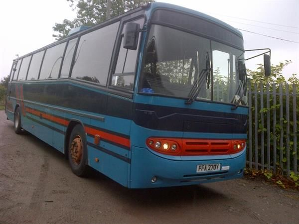 Leyland Tiger 53 coach bus