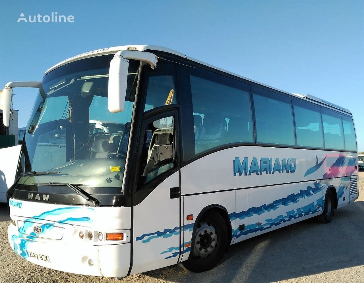 MAN 14.280HOCL BEULAS MIDISTAR+FINAL2002+45PAX+EURO 3 coach bus