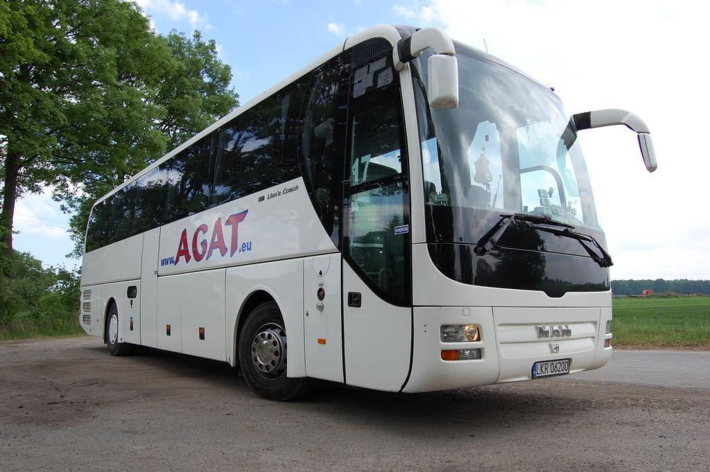 MAN  R07 LIONS COACH Euro EEV, 51 Pax coach bus