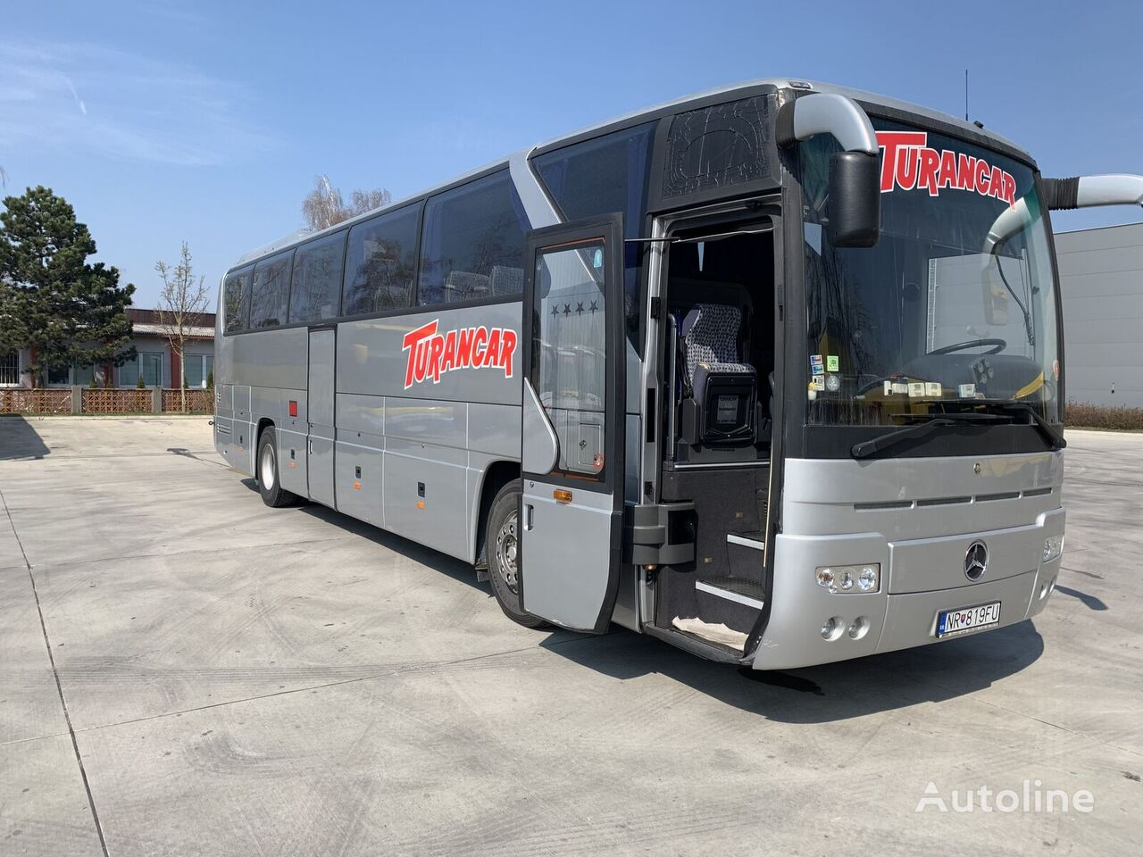 MERCEDES-BENZ O 350 RHD coach bus