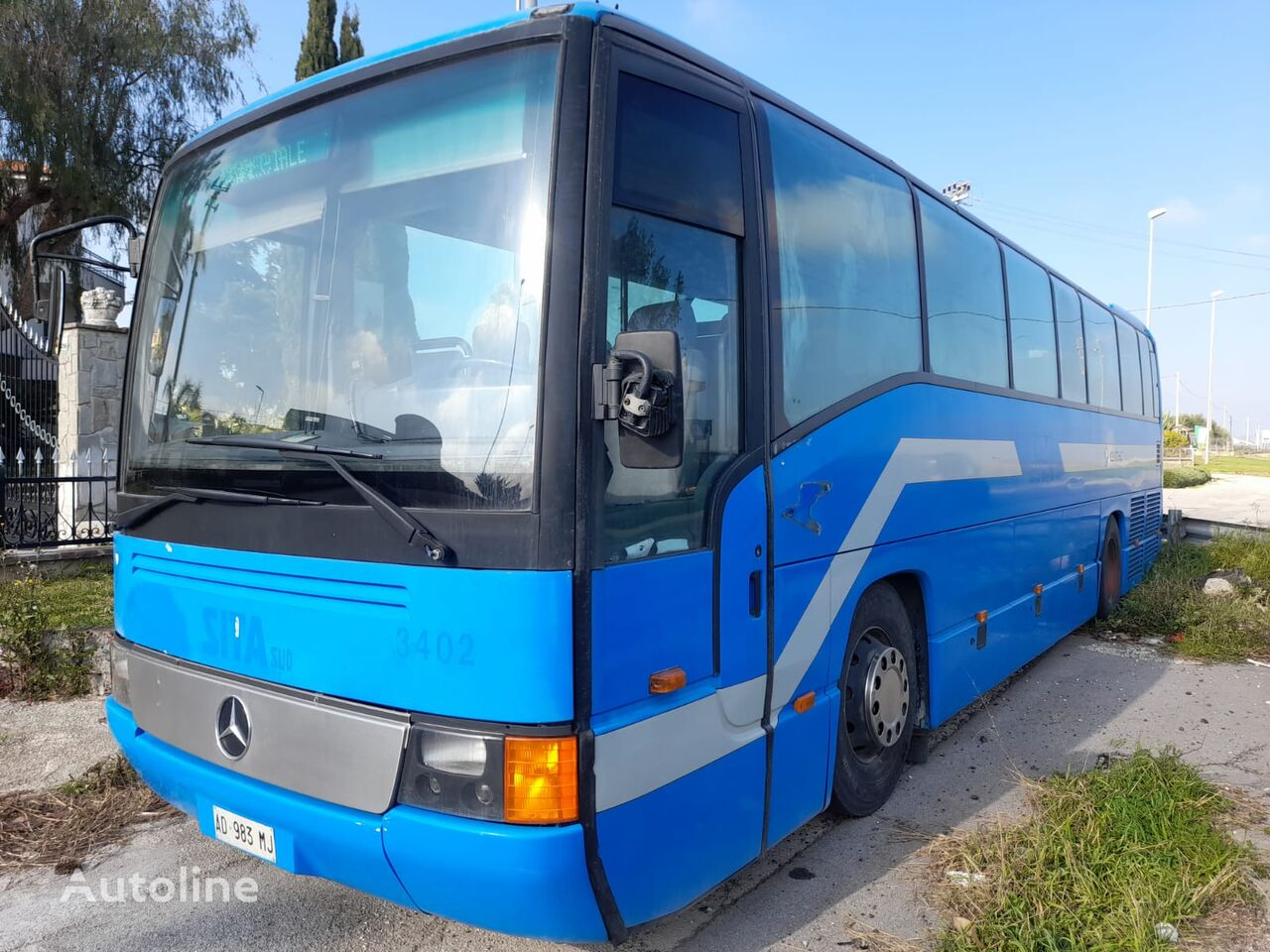 MERCEDES-BENZ O404 13 RH  coach bus