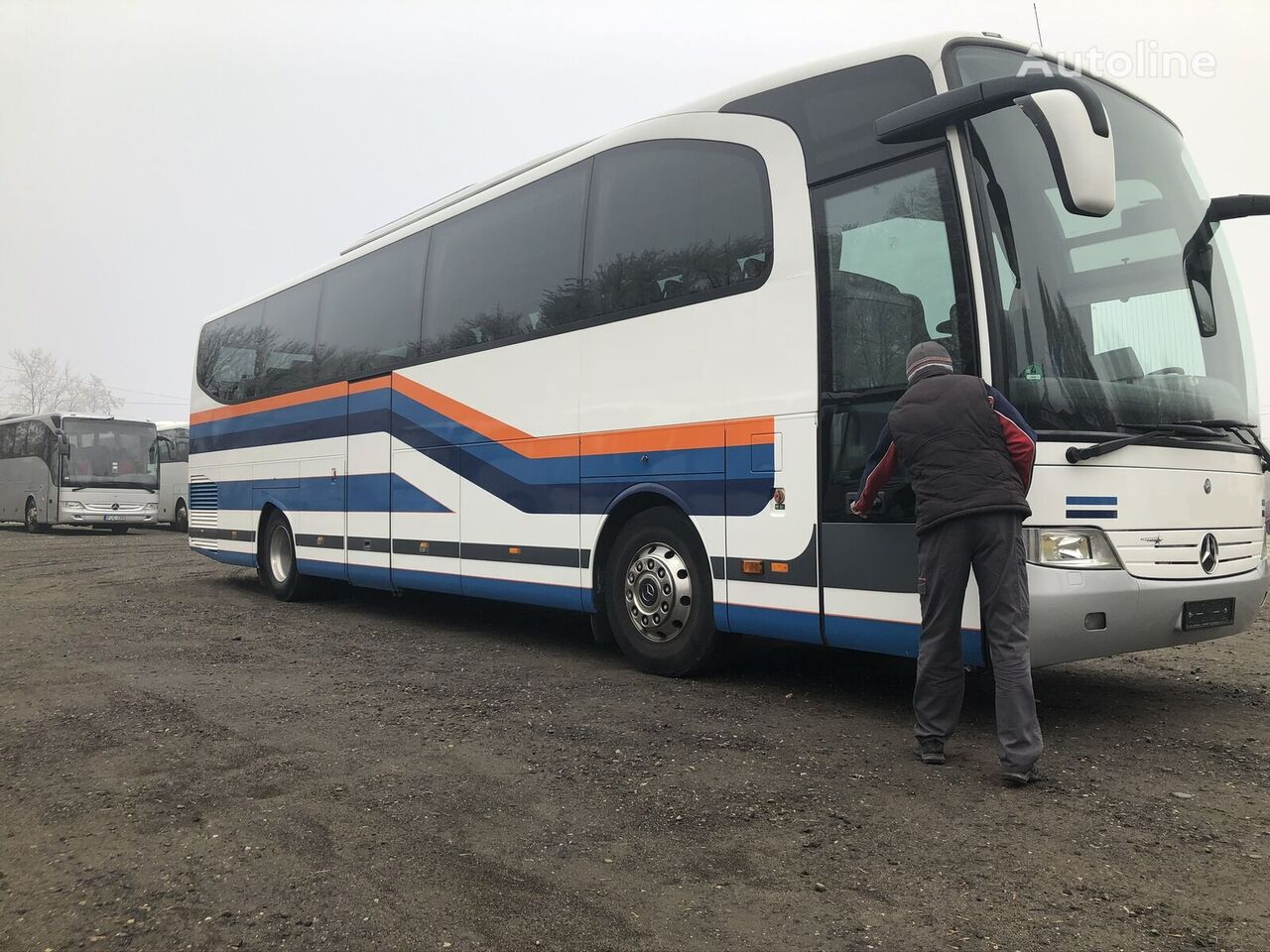MERCEDES-BENZ Travego 15 RHD Polaris coach bus