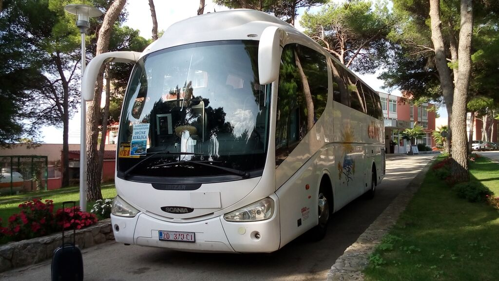 SCANIA IRIZAR PB coach bus