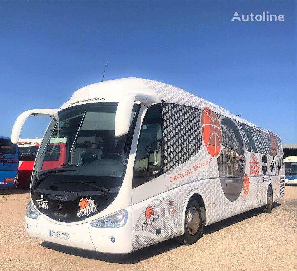 SCANIA K124 IRIZAR PB  + 55 PAX + WC + LITERA coach bus