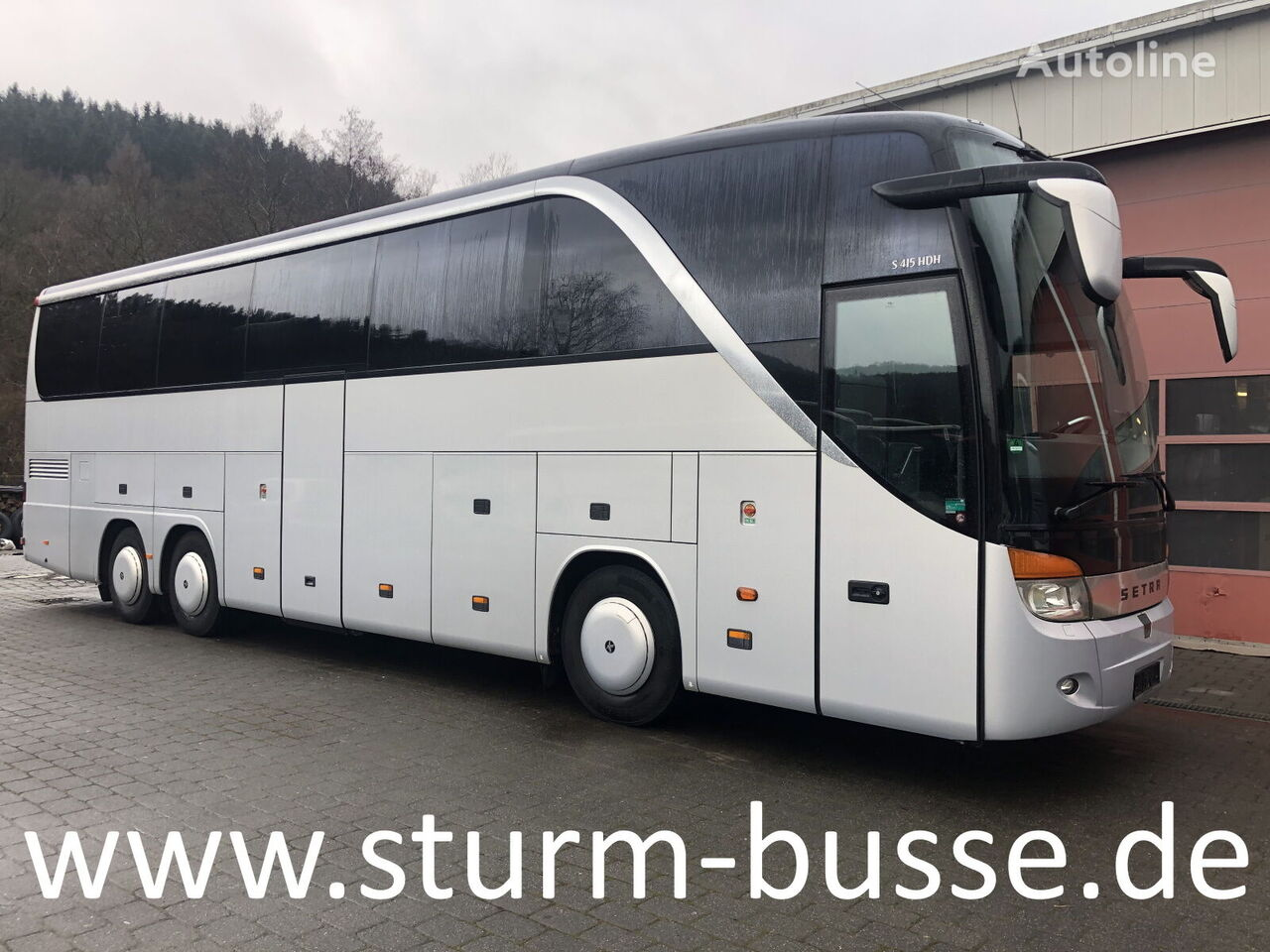 SETRA S 415 HDH coach bus
