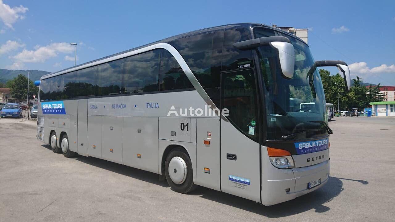 SETRA S 417 HDH coach bus