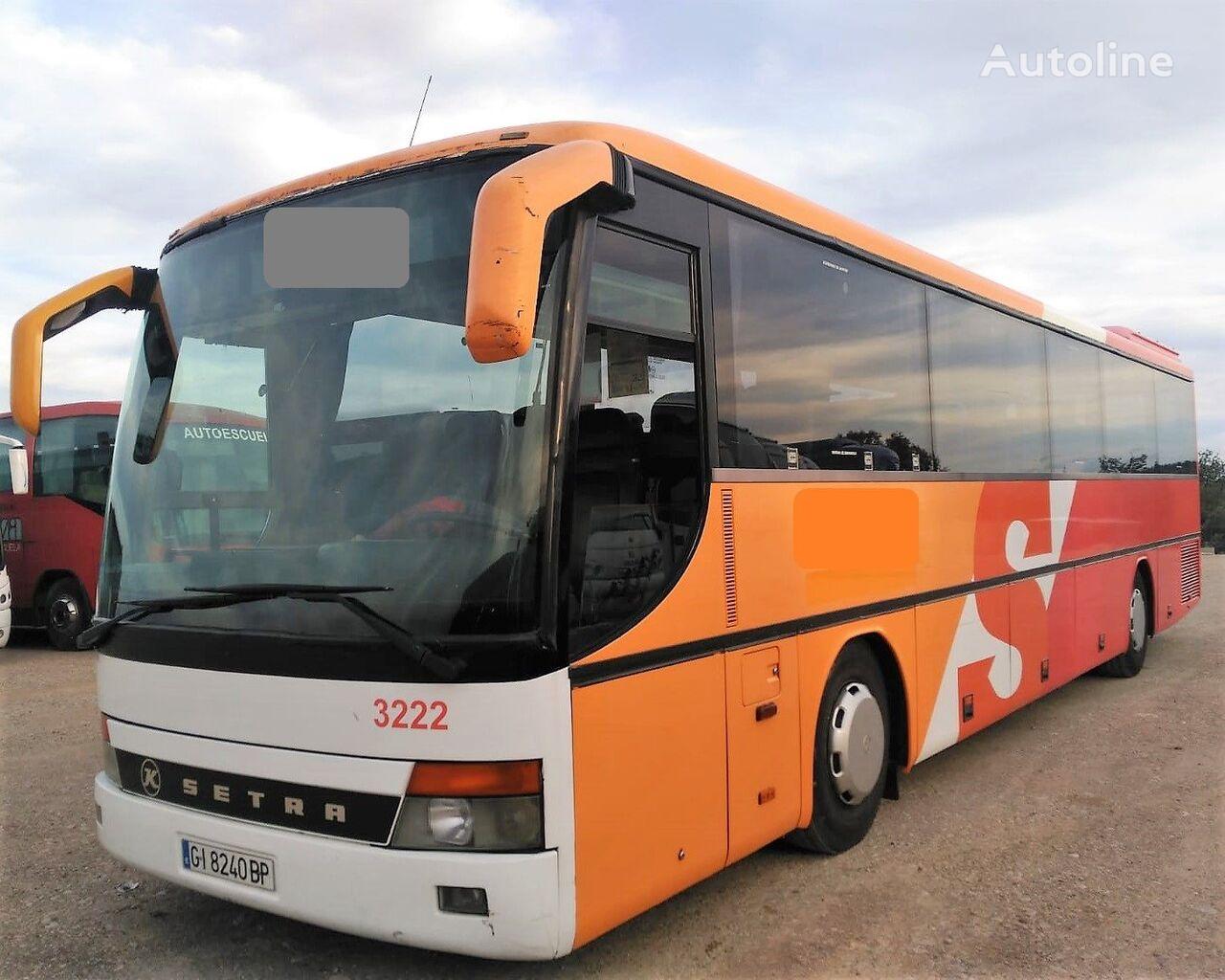 SETRA S315 GT  8 CILINDROS MOTOR MERCEDES+8CILI+380CV coach bus