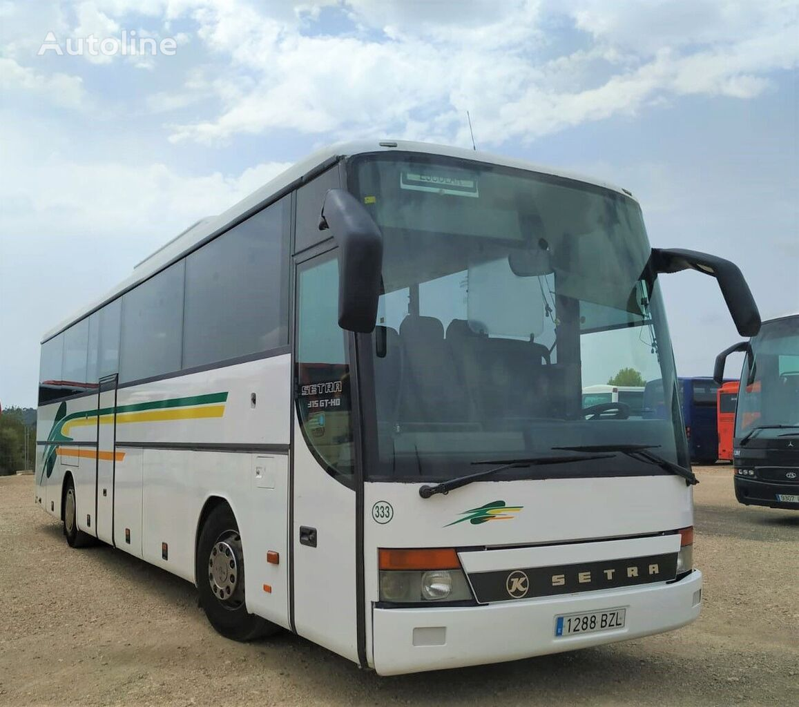 SETRA S315 GT-HD MOTOR MERCEDES coach bus