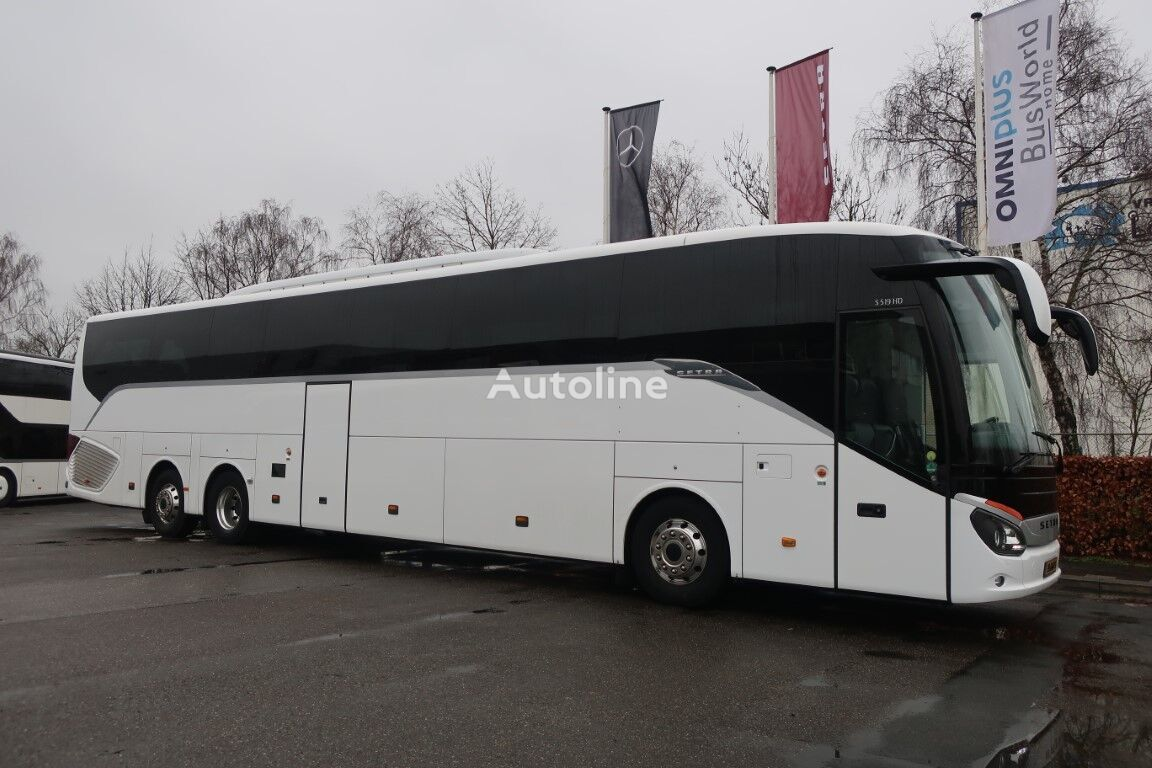 SETRA S519 HD EURO 6 ( 69+2+1 ) 1 year driveline BusStore guarantee coach bus