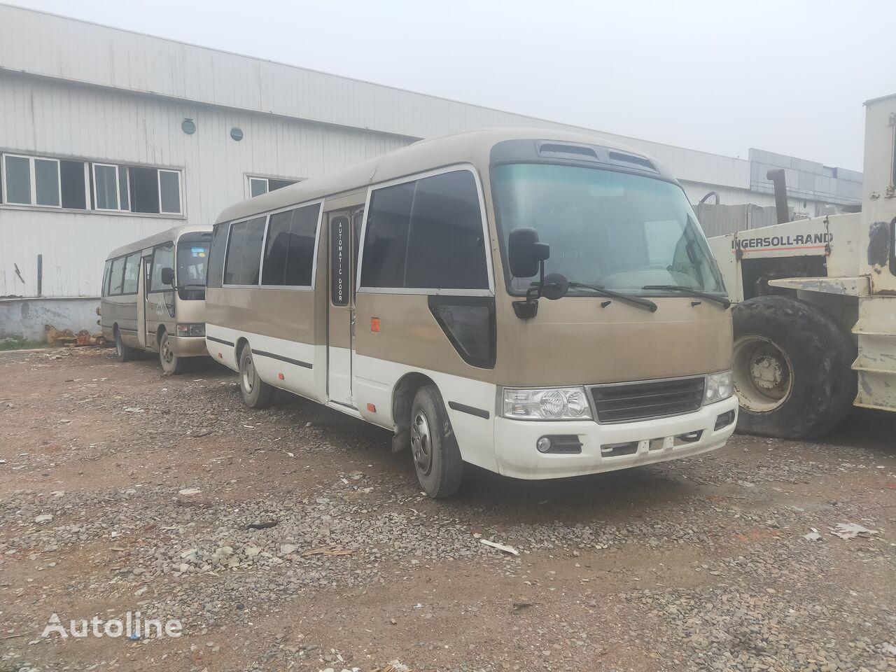 TOYOTA USED  JAPAN  TOYOTA  COASTER  HYDRAULIC  BUS coach bus