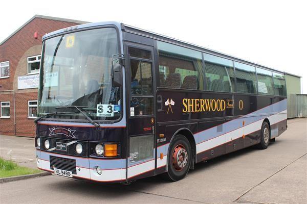 VAN HOOL coach bus