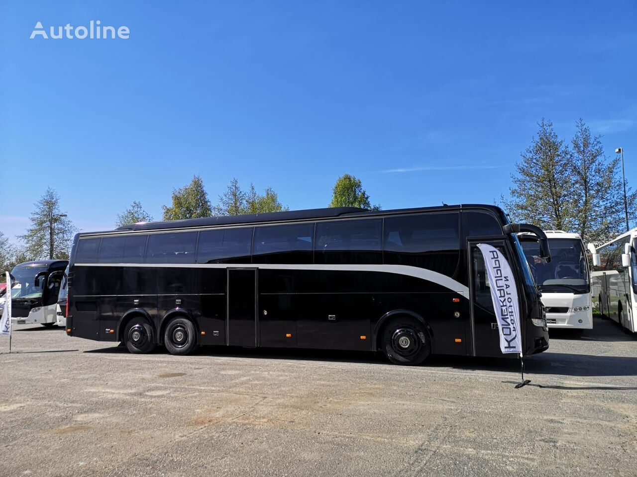 VOLVO 9700 9900 HD B12B coach bus