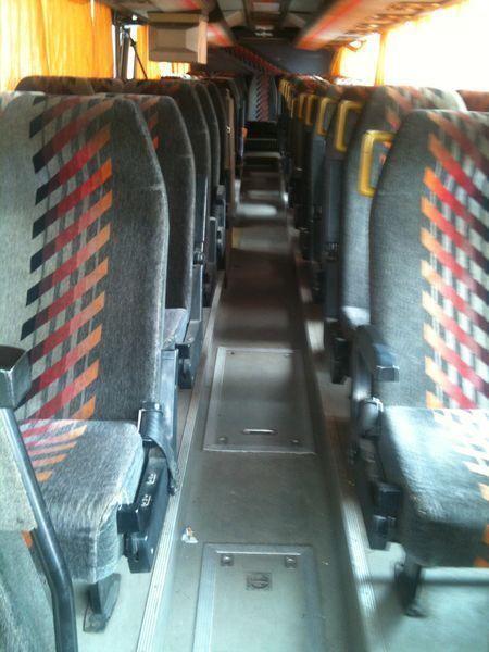VOLVO Vanhool coach bus