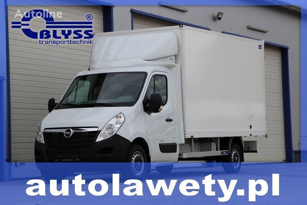 new OPEL MOVANO ZABUDOWA KONTENER SKRZYNIA HOMOLOGACJA 3.5 box truck < 3.5t