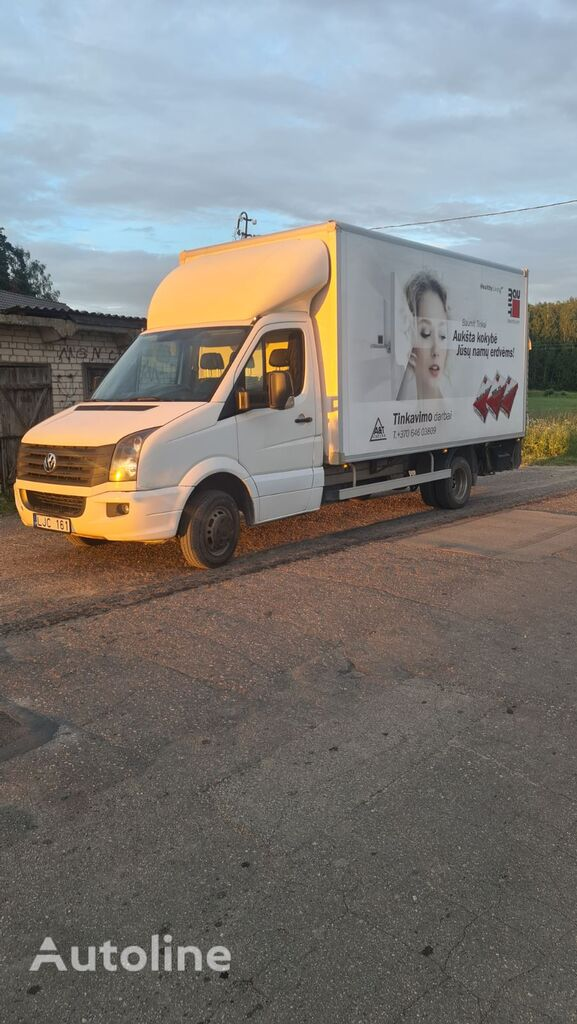 VOLKSWAGEN Crafter box truck < 3.5t