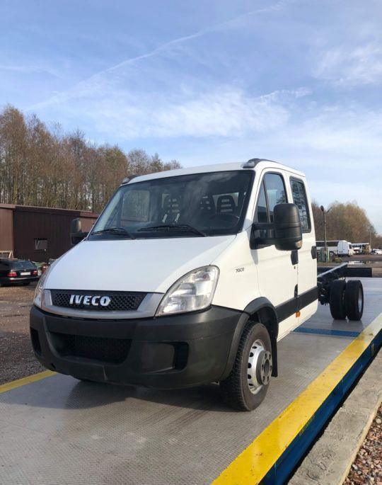 IVECO daily 70c17 doka rama do zabudowy chassis truck < 3.5t