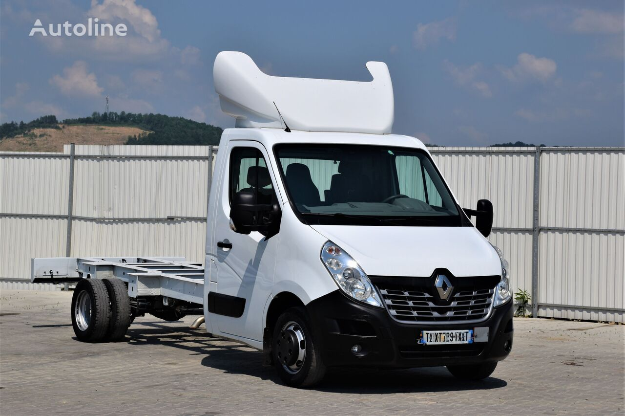RENAULT MASTER 165 DCI * FAHRGESTELL 4,25m * TOPZUSTAND! chassis truck < 3.5t
