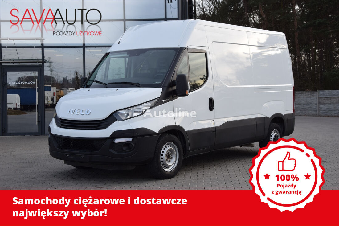 IVECO DAILY 35S14 ​*NOWY MODEL​*L2H2​*EURO 6​*KLIMATRONIC​*TEMPOMAT​*3 closed box van