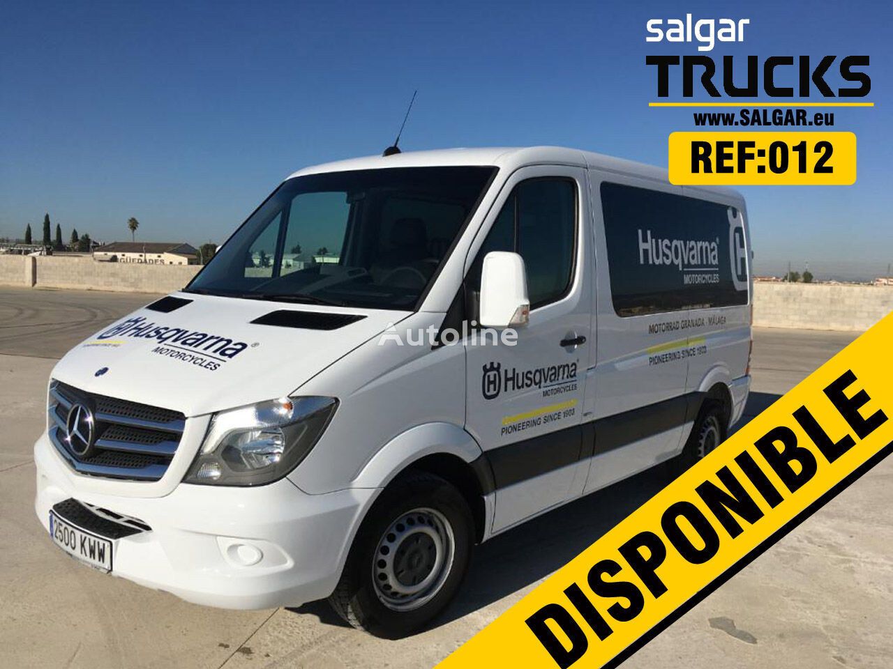 MERCEDES-BENZ SPRINTER 316 CDI closed box van