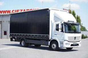 MERCEDES-BENZ Atego 1524 , E6 , 90 TYS KM , DMC 15T , firanka 7,2m , winda 1.5 curtainsider truck < 3.5t